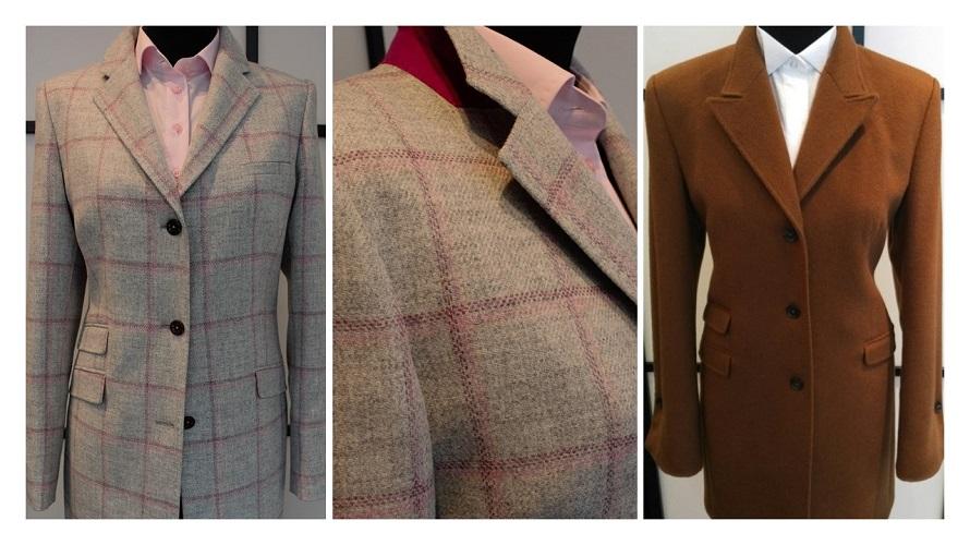 Carrure tailleur et manteau sur mesure femme